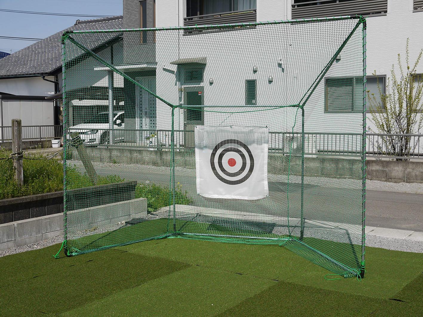 【大型便・時間指定不可】南栄工業 ゴルフターゲット 据置式 GT-200 ゴルフネット