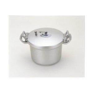 北陸アルミ [ホクア]業務用 アルミ圧力鍋 15L [2.0升]