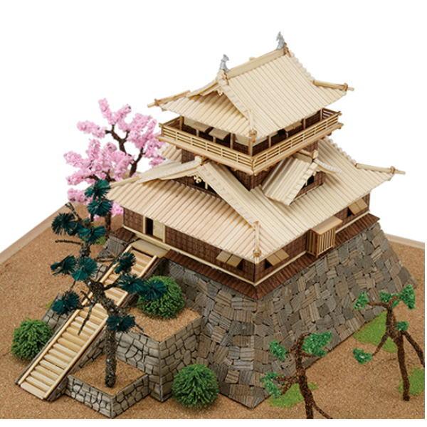 ウッディジョー 木製建築模型 1/150 丸岡城