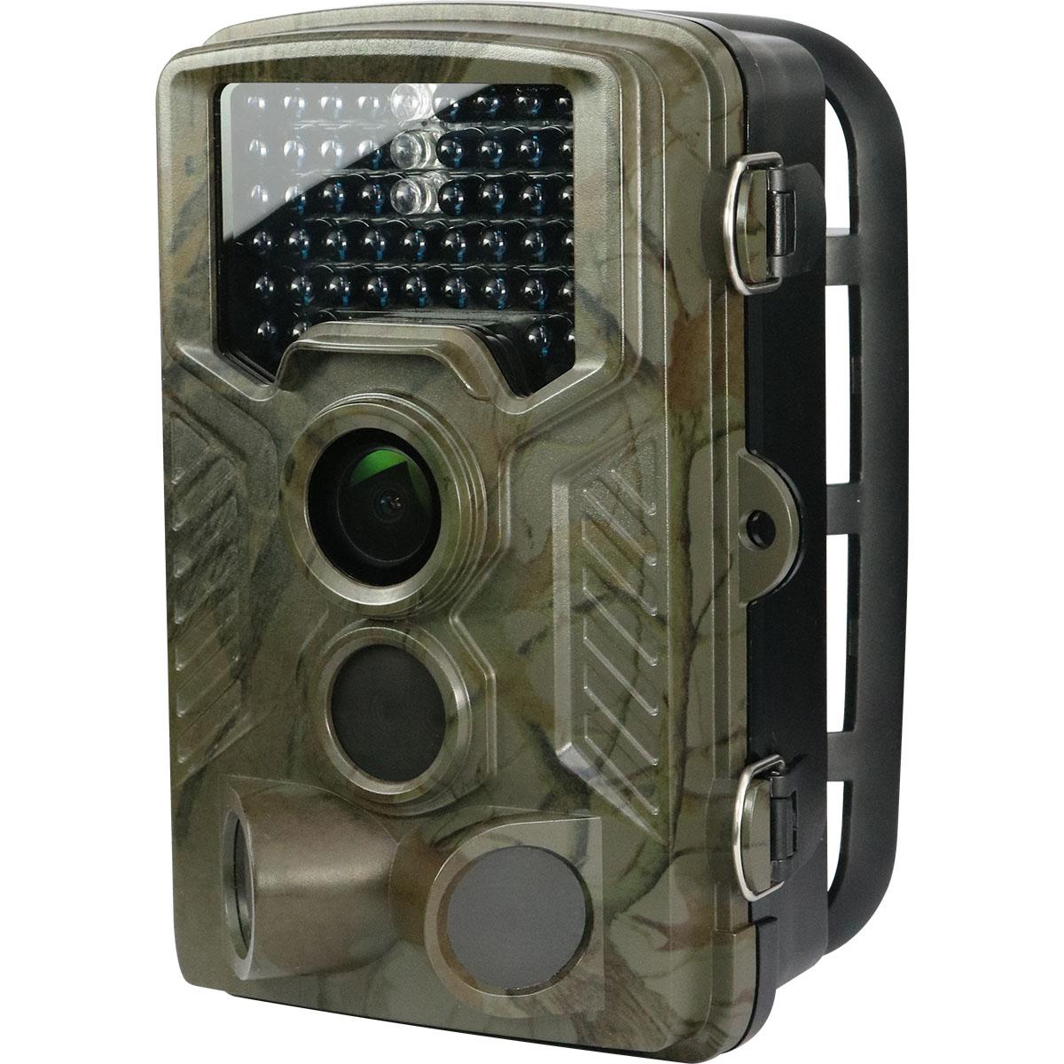 オンスクエア Wセンサーカメラ 乾電池式 SD録画装置内蔵 防塵防水 防犯カメラ OL-501