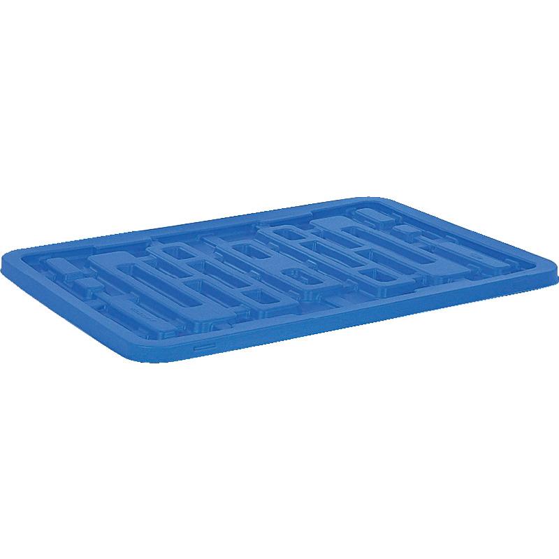 【メーカー直送 代引不可】サンコー ジャンボックス#1000フタ ブルー 2枚 820004 セット販売