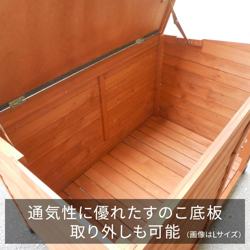 【大型便・時間指定不可】 犬小屋 片屋根木製犬舎 S DHW1018-S 組立品