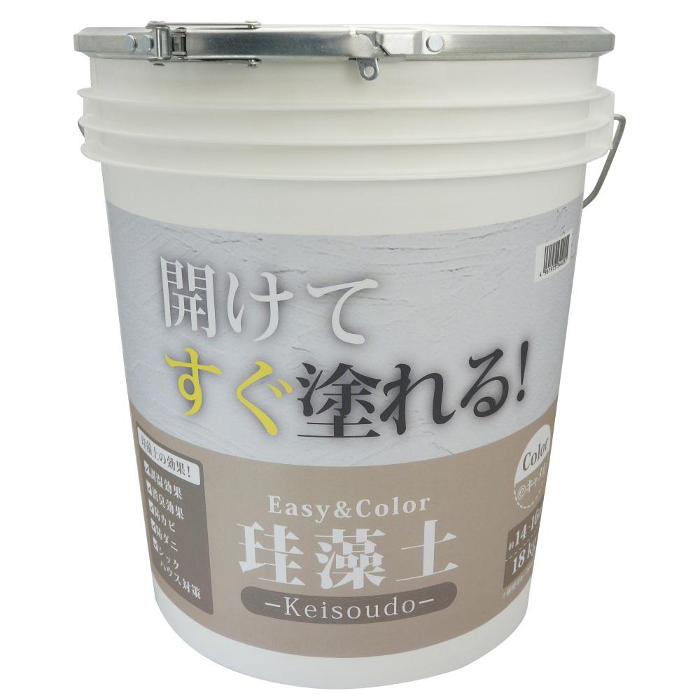 ワンウィル EASY&COLOR 珪藻土 18kg キャメル
