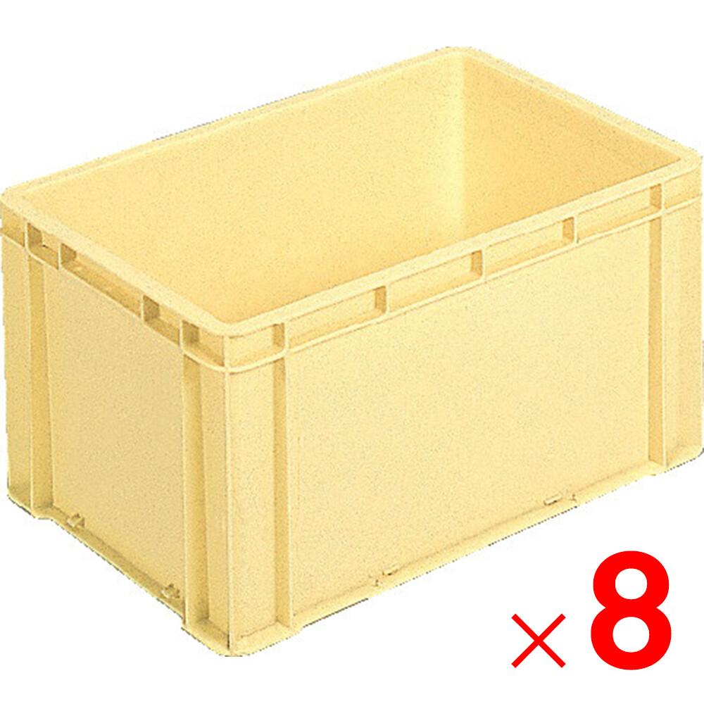 【メーカー直送 代引不可】サンコー サンボックス#36C 分別回収容器 クリーム 8個 203205 セット販売