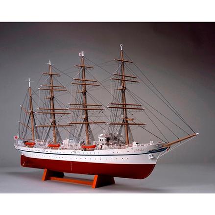 ウッディジョー 木製帆船模型 1/160 日本丸[帆なし・停泊]