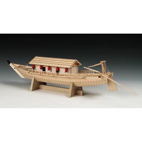 ウッディジョー 木製帆船模型 1/24 屋形船 [初心者向け]
