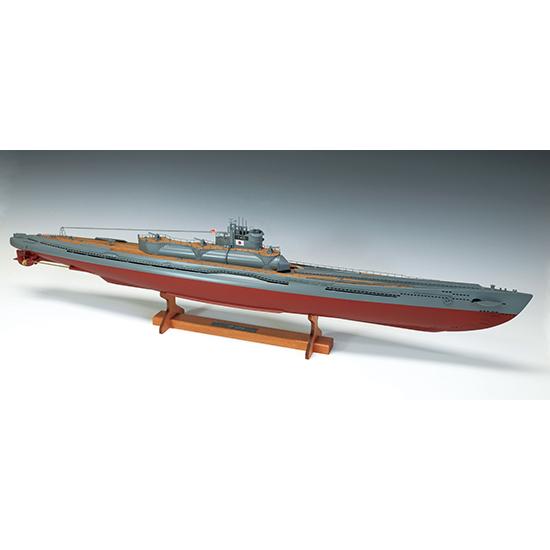 ウッディジョー 木製帆船模型 1/144 伊400 日本特型潜水艦