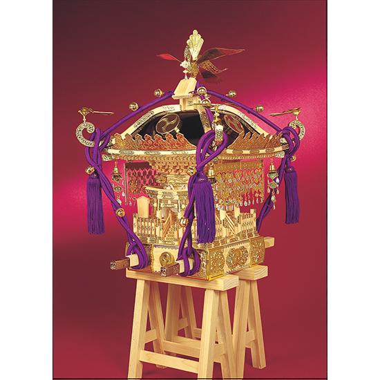 ウッディジョー 木製模型 【1/5 江戸神輿】