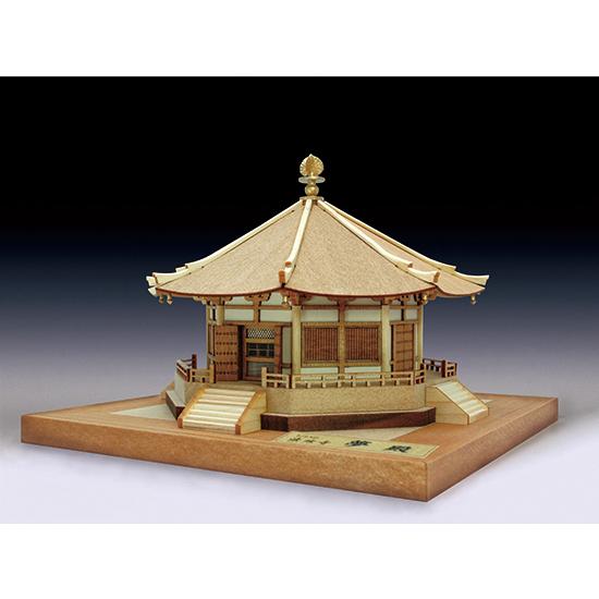 ウッディジョー 木製建築模型 1/150 法隆寺 夢殿