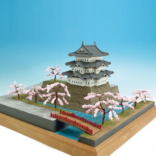 ウッディジョー 木製建築模型 1/150 弘前城 レーザーカット加工