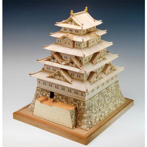 ウッディジョー 木製建築模型 1/150 江戸城