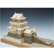ウッディジョー 木製建築模型 1/150 小田原城