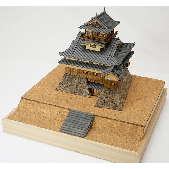 ウッディジョー 木製建築模型 1/150 犬山城