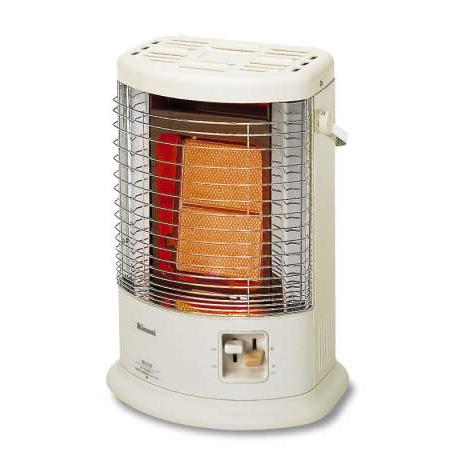 リンナイ ガス赤外線ストーブ R-852PMS3 C 縦型 都市ガス 13A