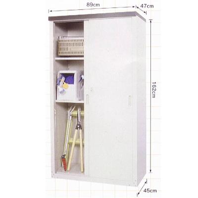 グリーンライフ 家庭用収納庫 メーカー直売 HS-162 NEW売り切れる前に☆ 代引不可 高さ162cmタイプ メーカー直送