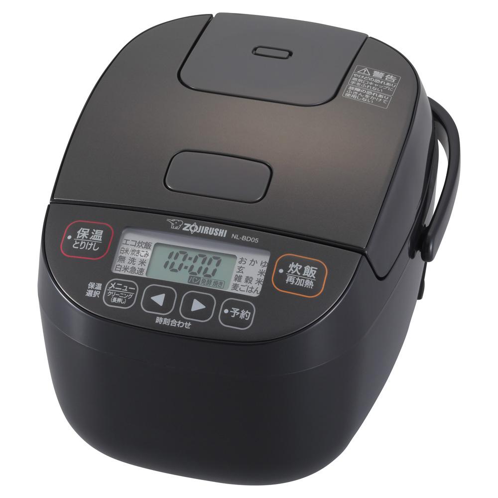 象印 卓抜 極め炊き マイコン炊飯ジャー NL-BD05-BA 3合炊き スピード対応 全国送料無料