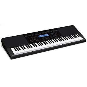 【大型便・時間指定不可】CASIO カシオベーシック キーボード WK-245【76鍵盤】