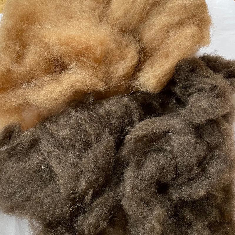 キャメル整毛100g 超特価SALE開催 紡毛 紡ぎ 手織り 織機 染め 羊毛 絹 糸 ニードル 綿 フェルト ウール ついに入荷
