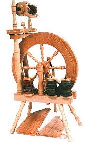 アシュフォード トラベラー紡毛機-ラッカー【紡ぎ車 紡ぎ 染め 羊毛 フェルト 糸 綿 ウール】