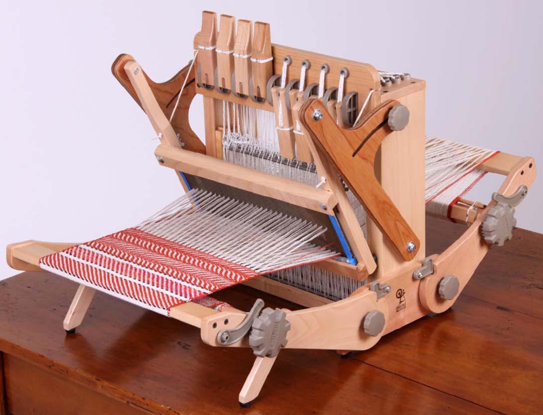 アシュフォード・ケイティルーム30cm8枚そうこう【卓上 手織り 織り機 織機 ヘドル 紡ぎ 染め 羊毛 フェルト ニードル 糸 綿 ウール】