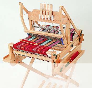 アシュフォード・テーブルルーム40cm4枚そうこう旧モデル【卓上 手織り 織り機 織機 ヘドル 紡ぎ 染め 羊毛 フェルト ニードル 糸 綿 ウール】