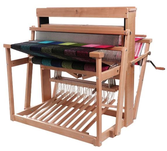アシュフォード・ジャックルーム97cm8枚そうこう(予約制)【卓上 手織り 織り機 織機 ヘドル 紡ぎ 染め 羊毛 フェルト ニードル 糸 綿 ウール】