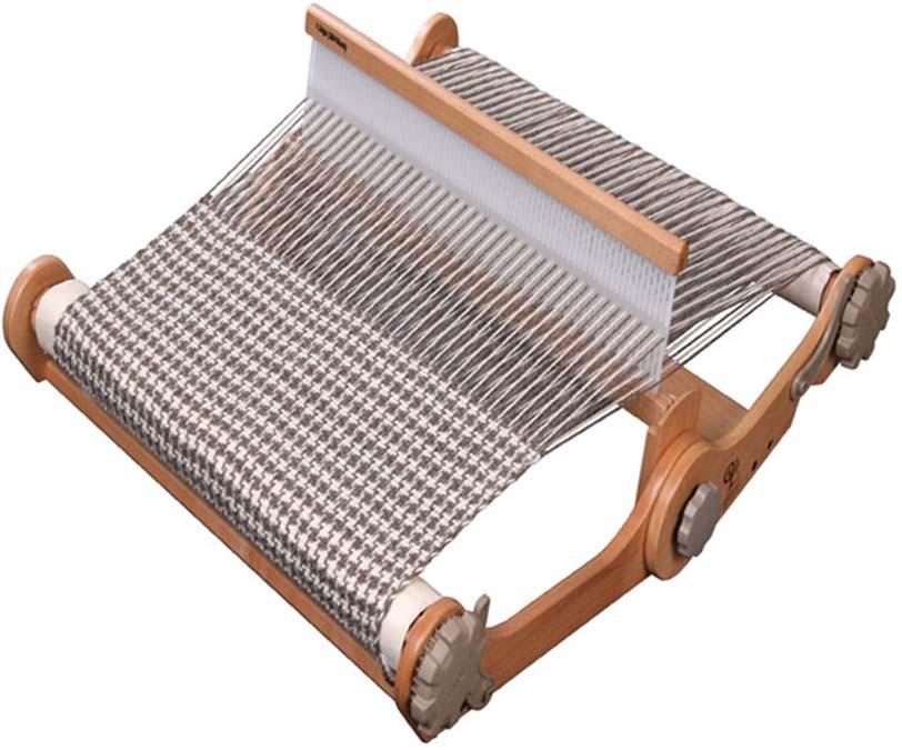 アシュフォード・ニッターズルーム30cm 専用バッグ付き【卓上 手織り 織り機 織機 ヘドル 紡ぎ 染め 羊毛 フェルト ニードル 糸 綿 ウール】