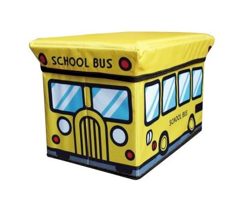 存储盒工具校车座位收纳箱凳