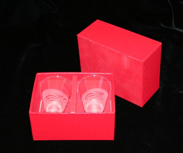 ◆特選!ポイント20倍!◆ペアシェリーグラスサンドブラスト製品