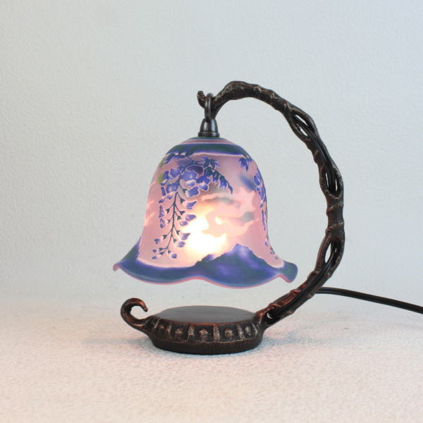 宙吹きガラステーブルランプ テーブルランプ 卓上ランプ 照明 サンドブラスト 693313