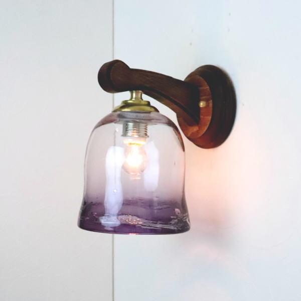 ブラケットライト 壁掛け照明 ブラケットランプ fc-ww016g-ryukyu14s 琉球ガラス