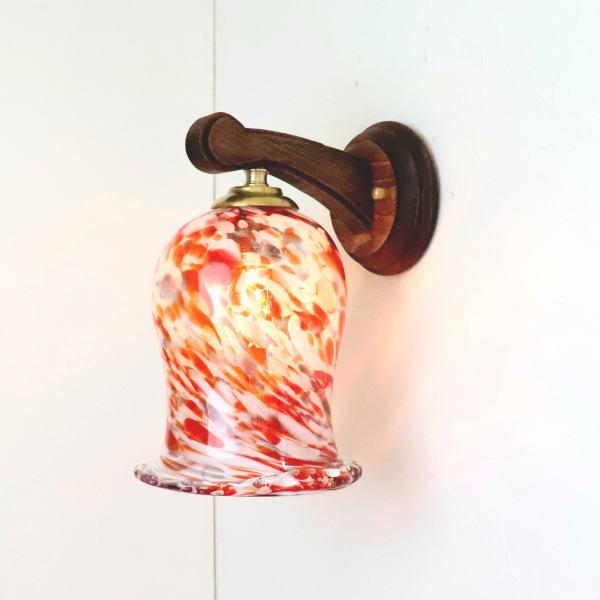 ブラケットライト 壁掛け照明 ブラケットランプ fc-ww016g-ryukyu16s 琉球ガラス