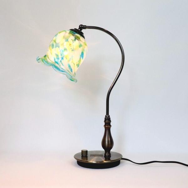 琉球ガラステーブルランプ GlassStudio尋 卓上ライト テーブルライト fc-570ay-ryukyu6s
