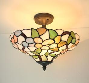 ステンドグラス ランプ シーリングランプ ペンダントランプ