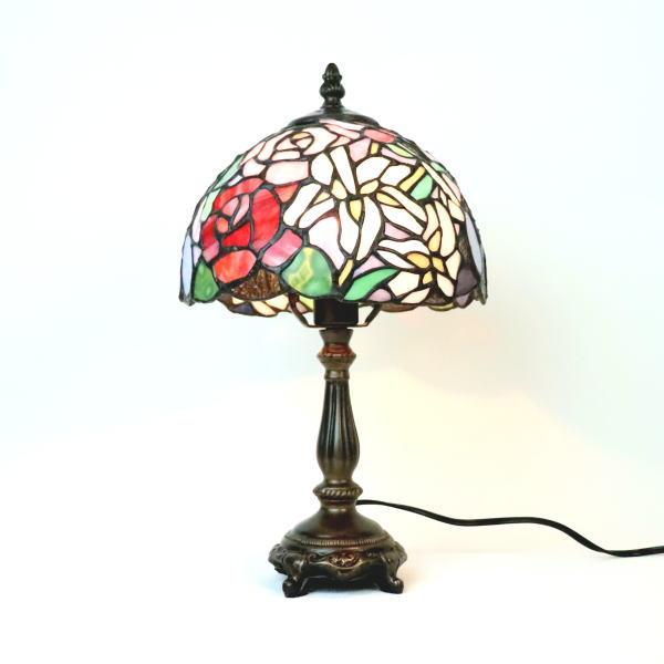 ステンドグラス ランプ ステンドグラスランプ テーブルランプ 689203