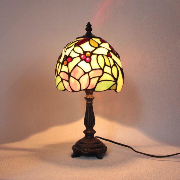 ステンドグラス ランプ ステンドグラスランプ テーブルランプ 689273