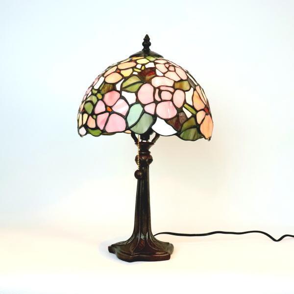 ステンドグラス ランプ ステンドグラスランプ テーブルランプ 689301