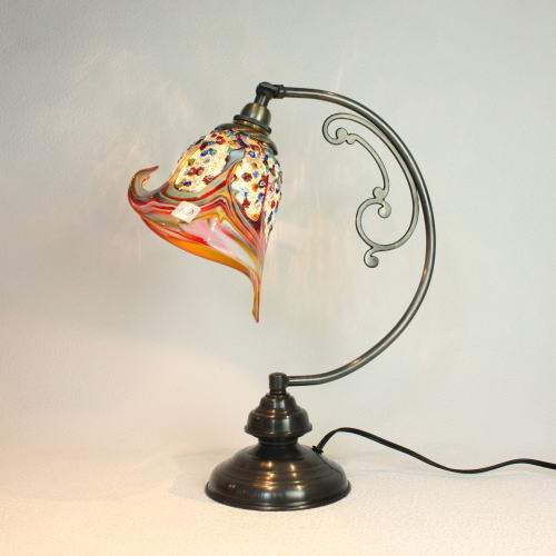 ベネチアングラスランプ ヴェネチアングラスランプ 照明 テーブルランプ ついに再販開始 ムラーノ 卓上ランプ イタリア製 送料無料 激安 お買い得 キ゛フト dd10ay-fantasy-calla-arlecchino