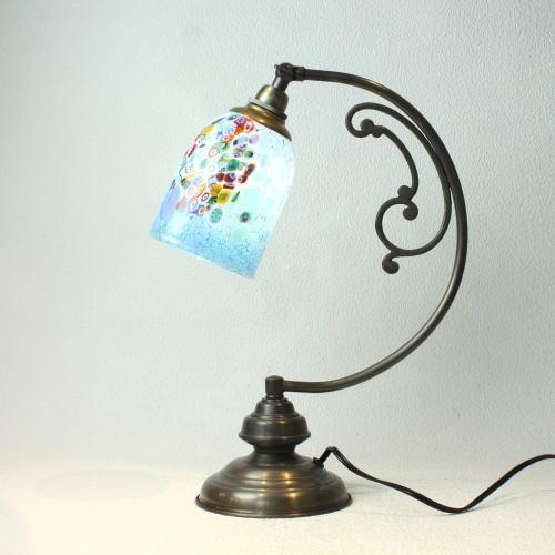 dd10ay-goti-p-goto-azure ベネチアングラスランプ 照明 テーブルランプ 卓上ランプ イタリア製