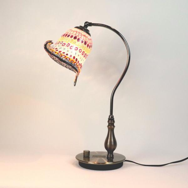 fc-570ay-murina-inpiera-calla-b ベネチアングラスランプ 照明 テーブルランプ 卓上ランプ イタリア製 ベネチアングラス