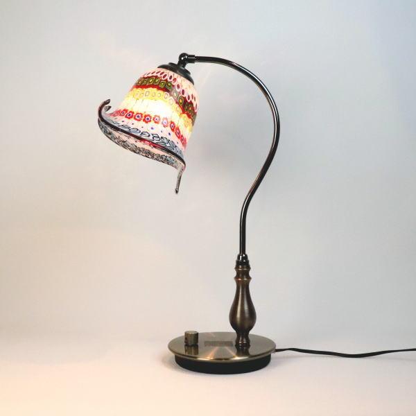 fc-570ay-murina-inpiera-calla-c ベネチアングラスランプ 照明 テーブルランプ 卓上ランプ イタリア製 ベネチアングラス