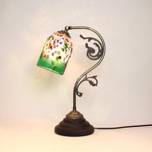 fc-600a-fantasy-goto-green ベネチアングラスランプ 照明 テーブルランプ 卓上ランプ イタリア製