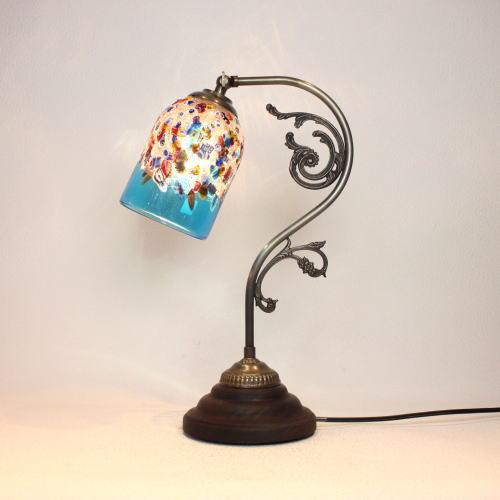 fc-600a-fantasy-goto-lightblue ベネチアングラスランプ 照明 テーブルランプ 卓上ランプ イタリア製