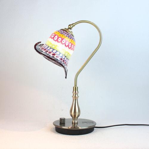 ベネチアングラスランプ 照明 テーブルランプ 卓上ランプ イタリア製 fc-210g-murina-inpiera-calla-a
