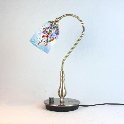 fc-210g-goti-p-goto-azure ベネチアングラスランプ 照明 テーブルランプ 卓上ランプ イタリア製