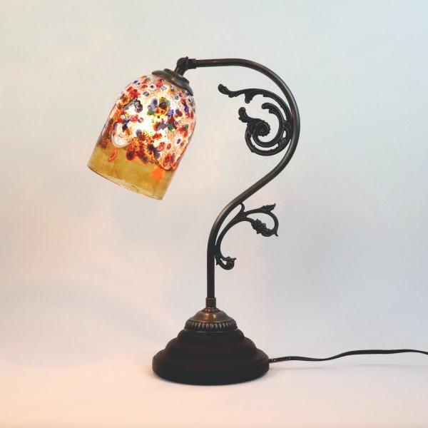fc-600a-fantasy-goto-amber ベネチアングラスランプ 照明 テーブルランプ 卓上ランプ イタリア製