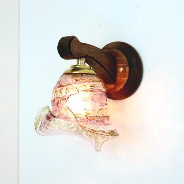 ブラケットライト 壁掛け照明 ブラケットランプ fc-ww016g-calla-sbruffo-amethyst-amber