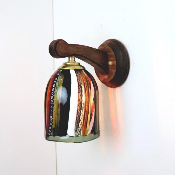 ブラケットライト 壁掛け照明 ブラケットランプ fc-ww016g-dm42brown