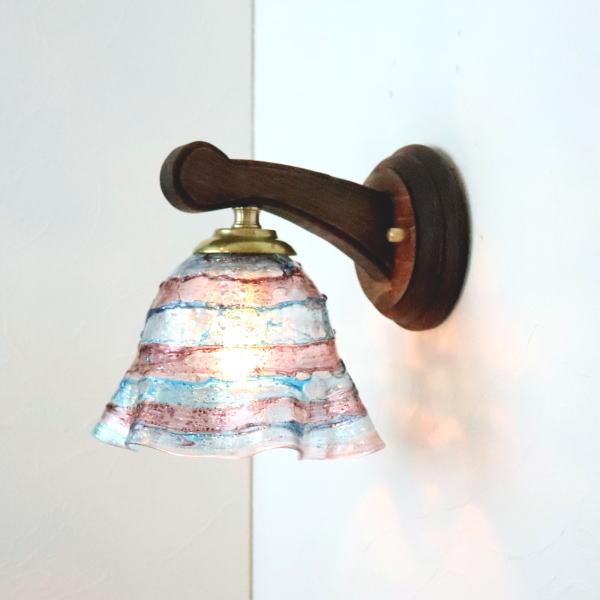 ブラケットライト 壁掛け照明 ブラケットランプ fc-ww016g-smerlate-sbruffo-ameamethyst-lightblue