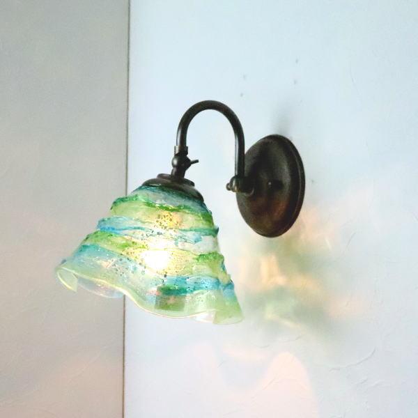 ブラケットライト 壁掛け照明 ブラケットランプ fc-w004-smerlate-sbruffo-red-amber-amethyst